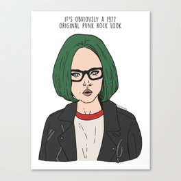 Enid - Ghost World Canvas Print