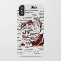 bukowski iPhone & iPod Cases featuring Charles Bukowski by brett66