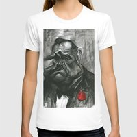 the godfather T-shirts featuring The Godfather by MK-illustration