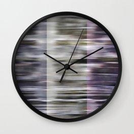 three rhythms Wall Clock