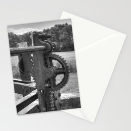 Gears and grease Stationery Cards