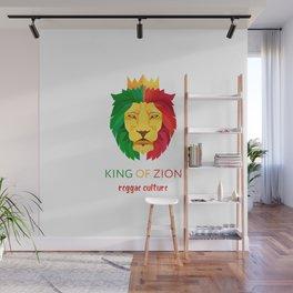 Reggae Lion Wall Mural