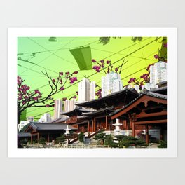 Beautiful China Art Print