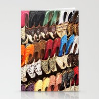 arabic Stationery Cards featuring Arabic Shoes by Ashley-liv