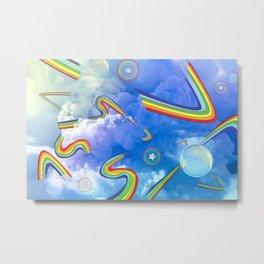 Rainbow Cloud #1 Metal Print