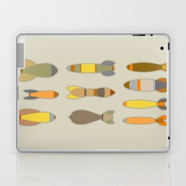 Array of Bombs Laptop & iPad Skin