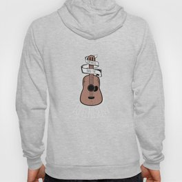 Somewhere Over The Rainbow Guitar Guitarists Musicians Musical Instruments Gift Hoody