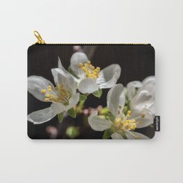 Plum Flowers Carry-All Pouch