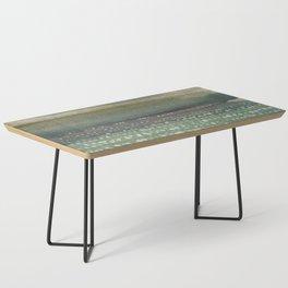 Landscape Dots- Blue Coffee Table