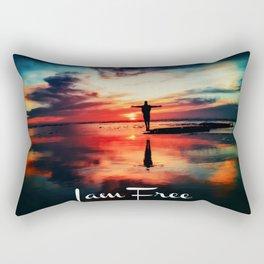 I am Free Rectangular Pillow