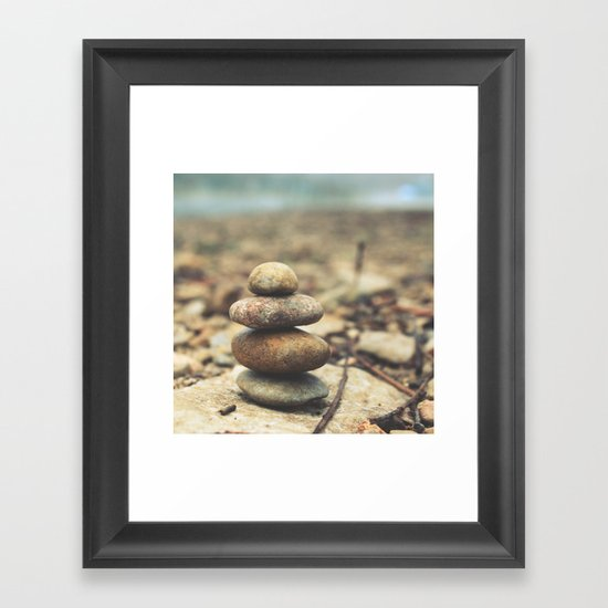 moments made ... Framed Art Print