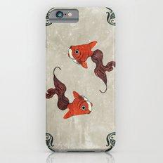 Peony gold fish Slim Case iPhone 6s