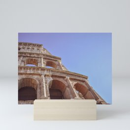 Close-up of Colosseum in Rome, Italy Mini Art Print