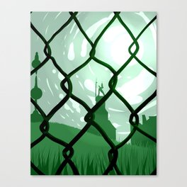 Across. Canvas Print