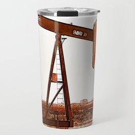 West Texas Pumpjack Travel Mug