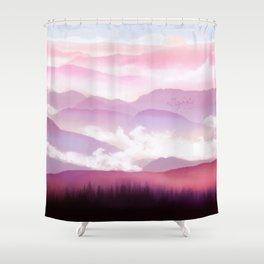 Candy Floss Mist Shower Curtain