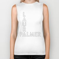 bastille Biker Tanks featuring Bastille - Laura Palmer #2 by Thafrayer