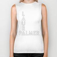 laura palmer Biker Tanks featuring Bastille - Laura Palmer #2 by Thafrayer