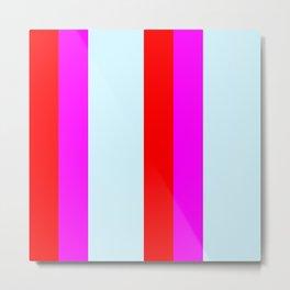 stripe pattern home decor Metal Print
