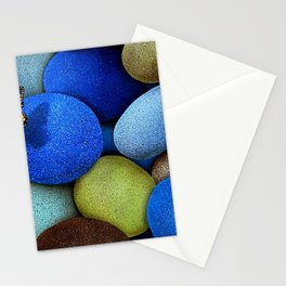 Gorgeous Fascinating Winged Insect Colorful Stones UHD Stationery Cards