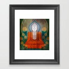 My Buddy Buddha Framed Art Print