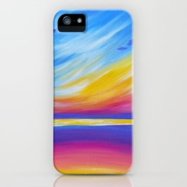 silence on the sound iPhone Case