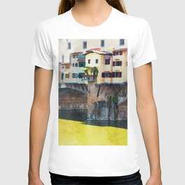 Watercolor painting of Florence, Italy T-shirt