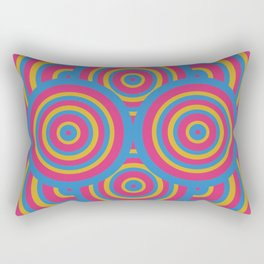 wide eyes&wireframes Rectangular Pillow