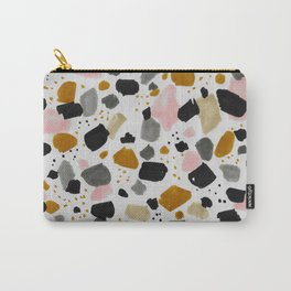 Terrazo brushstrokes Carry-All Pouch