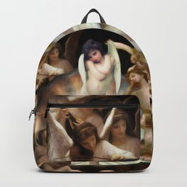 Bouguereau's Angels Surround Cupid Backpack