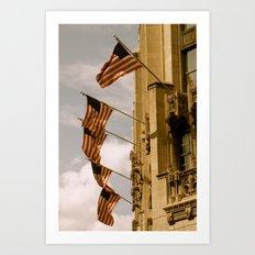 Flag Pride Art Print