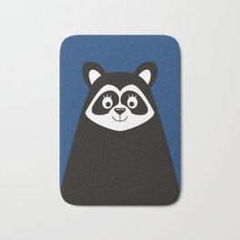 Scandinavian Minimalist Raccoon Bath Mat