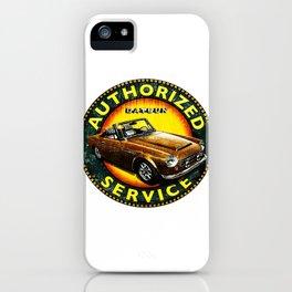 autorized service iPhone Case