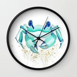 Neptune's Crab Wall Clock