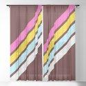 80's Style Retro Stripes by alphaomega