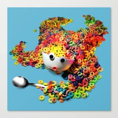 Clumsy Mornings Canvas Print