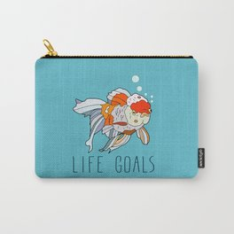 Life Goals Carry-All Pouch