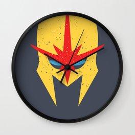 Nova - Bucket-Head Wall Clock