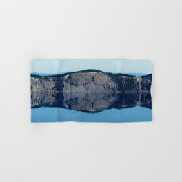 Crater Lake Reflection Hand & Bath Towel