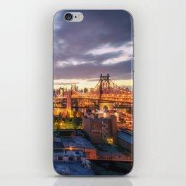 New York City Skyline - Evening iPhone Skin