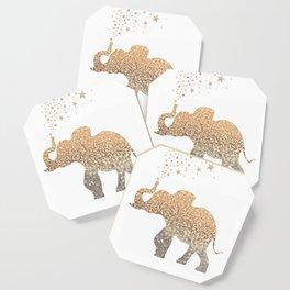 GOLD ELEPHANT Coaster