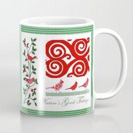 Nature's Good Tidings Coffee Mug