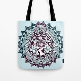 evolution of earth mandala Tote Bag