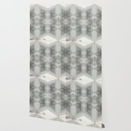 Optical Vibrations in Black and White Wallpaper