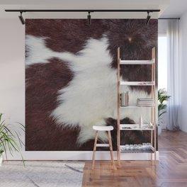 Cowhide Fur Wall Mural