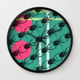 Beetlemania Wall Clock