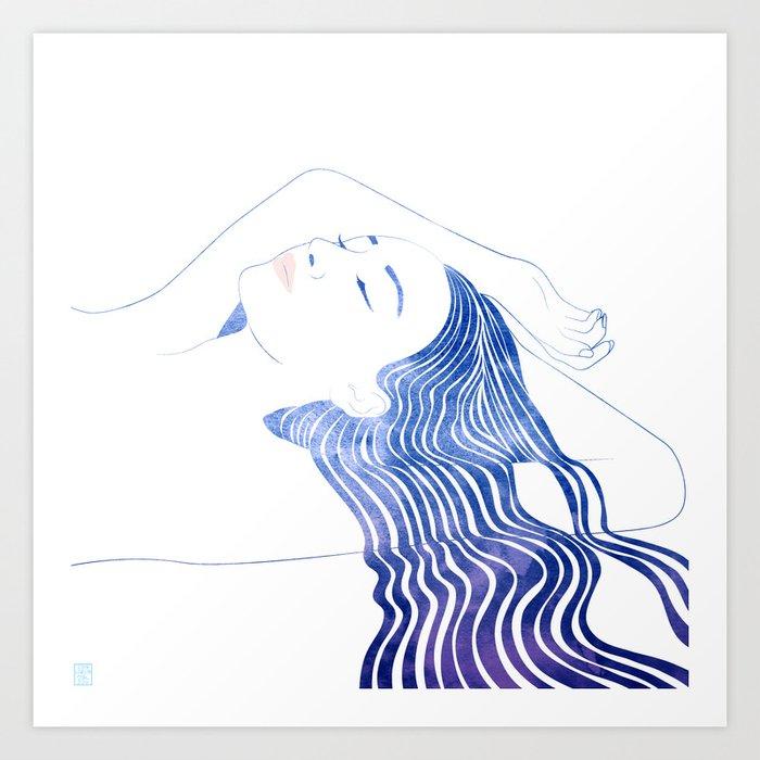 Water Nymph XLIX Art Print