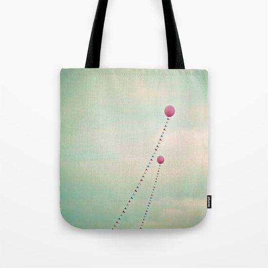 Whimsical Balloons Tote Bag