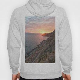 Vertical sunset Hoody