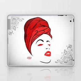 Lady Wrap (Red) Laptop & iPad Skin